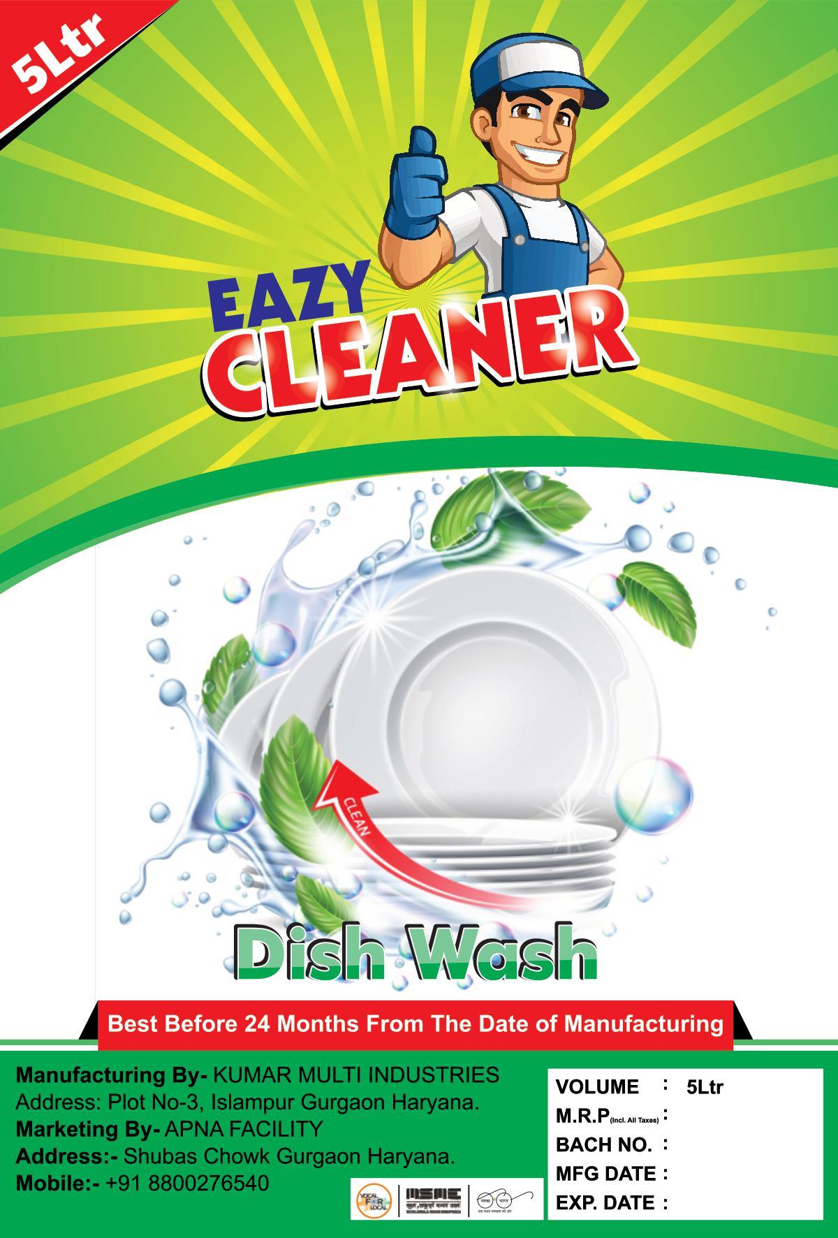 DISH WASH CLANER (500 ML)